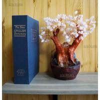 """Фонтан настольный """"Розовое Дерево"""", 26 см подсветка"""