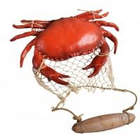 Краб с сеткой BIG KRAB, морской декор