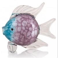 Рыбка Стеклянная фигурка в стиле Мурано. 23 см