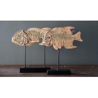 Декор  Рыбы юрского периода  41 см (комплект 2шт)