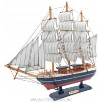 Декоративная модель корабля, дерево 31см K