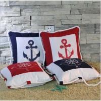 Подушки в морском стиле