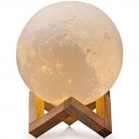 Светильник Луна, 15 см, три оттенка света, регулируемая яркость.