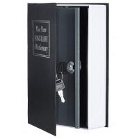 Книга сейф  с ключом 27см  BLACK