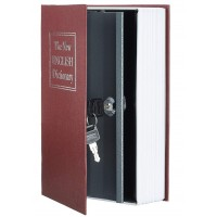 Книга сейф  с ключом 27см  BORDO