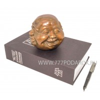 Индикатор настроения - Четыре лица Будды- бронза