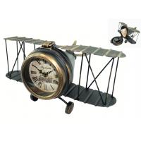 Модель самолета с часами и тайником, металл