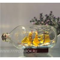Корабль в бутылке Мystery 19cm