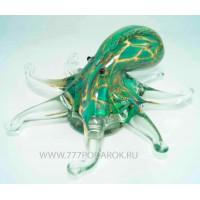 Осьминог. Стеклянная фигурка в стиле Мурано. 17х17 см Mureno
