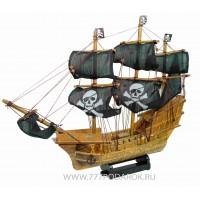 Пиратский корабль Santa Maria, дерево, 45см