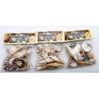 натуральные Ракушки (комплект 3уп) декор