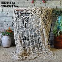 декоративная  Супер Сеть  4х2 метра  белый цвет