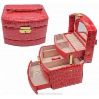 Шкатулка для ювелирных украшений Valise 2781 RED