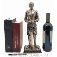 Статуэтка Рыцарь, 38см, камень, металл