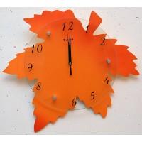 """Оригинальные часы """"Кленовый лист"""""""