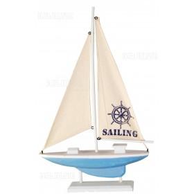 Модель яхты 32 см, дерево