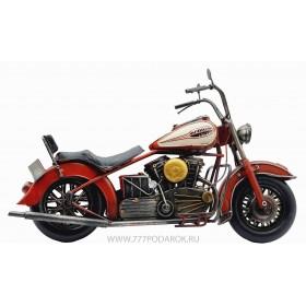 Модель мотоцикла HARLEY-DAVIDSON 1988, металл, 36см