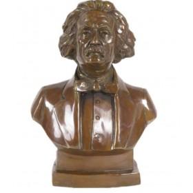 Бюст  Альберт Эйнштейн  бронза 26 см