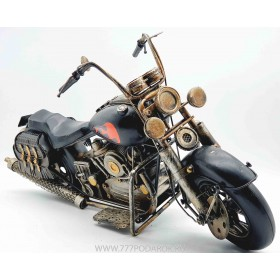 Модель  мотоцикла 41см, металл