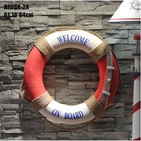 декоративный Спасательный круг  60см RED-NET