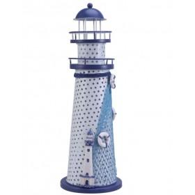 Декоративный  Маяк 29 см, led подсветка, металл LIGHT D