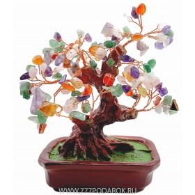 """дерево Бонсай  """"Дерево Изобилия""""  20см"""