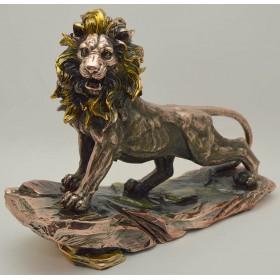 Статуэтка Лев с золотой гривой