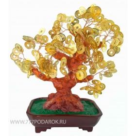 Денежное дерево Символ удачи,  30см