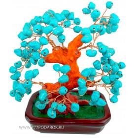 "дерево Бонсай  ""Бирюза""  20см"