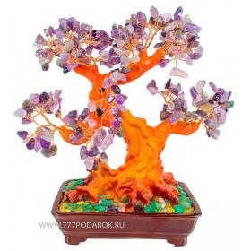 дерево камней Чароит  30см