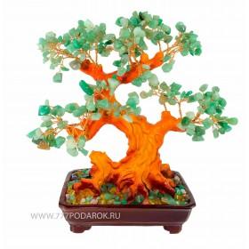 дерево камней Нефритовое 30см