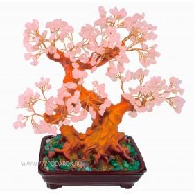 """дерево камней  """"Цветущая сакура""""  30см"""