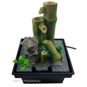 мини Фонтан-маятник  Бамбук и Пагода, высота 16 см