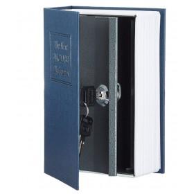 Книга сейф с ключами  24см The new english dictionary| Blue