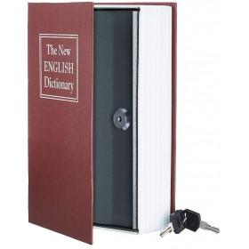 Книга сейф с ключами 24см The new english dictionary| Bordo