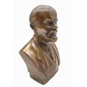 Бюст  Ленин В.И. бронза 18 см