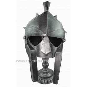 Шлем гладиатора, металл, взрослый.