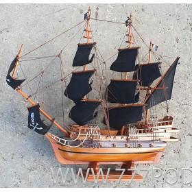 """Модель пиратского корабля  """"Морган Галеон"""" 60 см"""