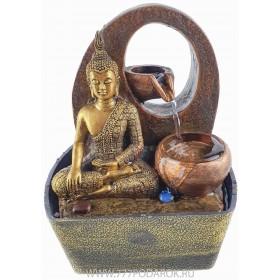 """настольный Фонтан """"Будда-полная чаша"""", высота 20 см"""