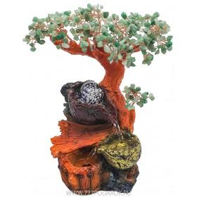 """Фонтан """"Нефритовое дерево -золотая чаша """" 35см, подсветка"""