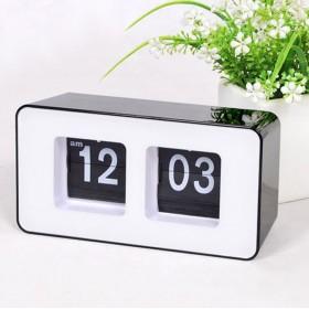 Ретро часы с перекидным циферблатом BLACK