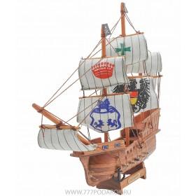 корабль Santa Maria, дерево, 35см