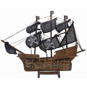 Пиратский корабль Santa Maria, дерево, 35см