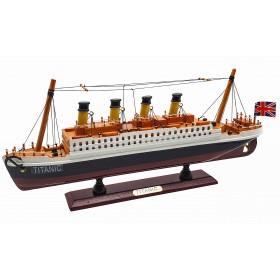 Титаник модель корабля, 35см, дерево