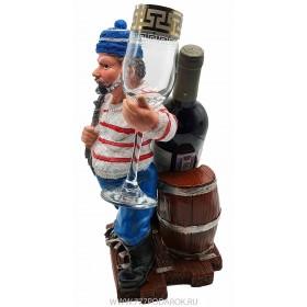 Подставка для бутылки Моряк,  высота  33см W