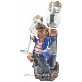 Подставка для бутылки и фужеров Капитан B