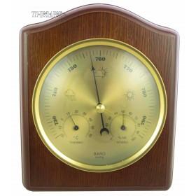 Метеостанция настенная барометр, термометр и гигрометр
