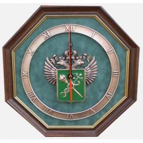 """Часы с символикой """"Таможня"""" 34 cм"""