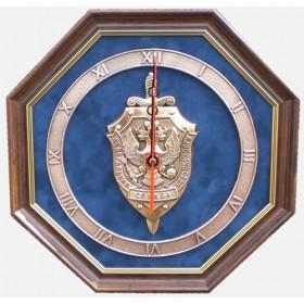 """Часы с символикой """"ФСБ"""" 34 cм"""