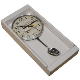 "Часы маятник  ""Ложка"""